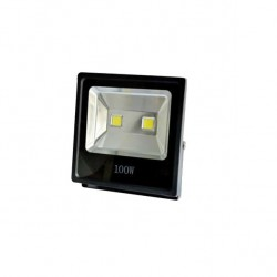 Proyector 100w 6500k Led Thor 120º 9000 Lm 29x29x9.3