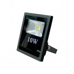 Proyector 10w 6500k Led Thor 120º 960 Lm 13.5x11x4
