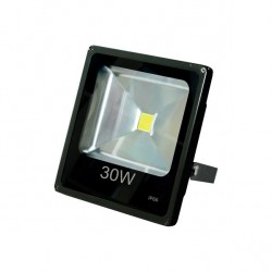 Proyector 30w 6500k Led Thor 120º 2700 Lm 22x22.5x5.5