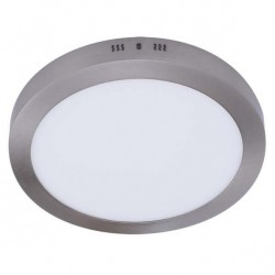 Downlight Sup.red.12w 4000k Aquiles Led Niquel 950 Lm 17,3dx4h