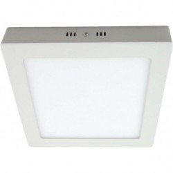 Downlight 24w 4000k Sup.cuad. Pegaso Led Blanco 1800 Lm 30x30x4