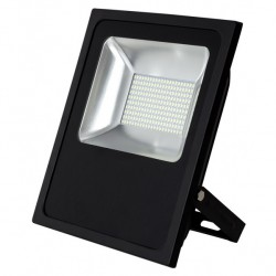 "Proyector 100w 6500k Con Sensor Led Smd Quiron 35"" 12m Alcance 8000lm 120º (33,5x29x6)"