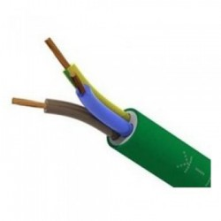 Cable de energía RZ1-K (AS) 0,6/1kV de 1x6 mm | Libre de halógenos