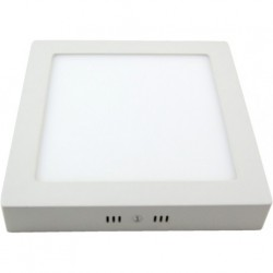 Downlight Sup. Cuad. Artemisa Led 12w 1080lm Blanco 18x18x4 6500k
